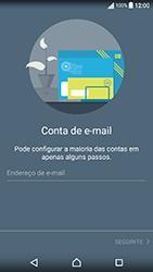 Sony Xperia XA (F3111) - Email - Adicionar conta de email -  6