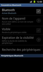Samsung I8530 Galaxy Beam - Bluetooth - connexion Bluetooth - Étape 8