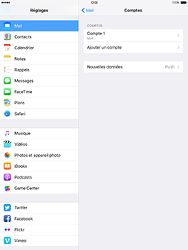 Apple iPad Mini 3 iOS 10 - E-mail - Configuration manuelle - Étape 18