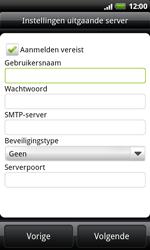 HTC S510e Desire S - E-mail - handmatig instellen - Stap 8