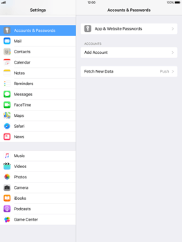 Apple Apple iPad Pro 9.7 - iOS 11 - Email - Manual configuration - Step 4