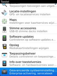 BlackBerry 9810 Torch - Instellingen - configuratiebericht ontvangen - Stap 5
