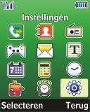Samsung E1280 - Buitenland - Bellen, sms en internet - Stap 3