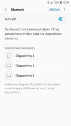 Samsung Galaxy S7 - Android Nougat - Bluetooth - Conectar dispositivos a través de Bluetooth - Paso 7