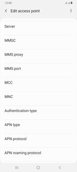 Samsung Galaxy A70 - Internet - Manual configuration - Step 14