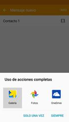 Samsung Galaxy J5 - Mensajería - Escribir y enviar un mensaje multimedia - Paso 19