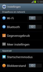 Samsung I8190 Galaxy S III Mini - Internet - Dataroaming uitschakelen - Stap 4