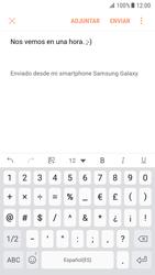 Samsung Galaxy S7 - Android Nougat - E-mail - Escribir y enviar un correo electrónico - Paso 11
