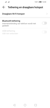 Huawei P30 Lite - Internet - mijn data verbinding delen - Stap 5