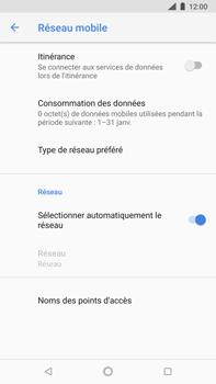 Nokia 8 Sirocco - Réseau - Sélection manuelle du réseau - Étape 7