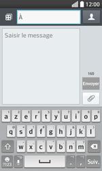 LG F70 - Contact, Appels, SMS/MMS - Envoyer un SMS - Étape 5