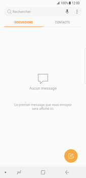 Samsung Galaxy S8 - Android Oreo - SMS - Configuration manuelle - Étape 4