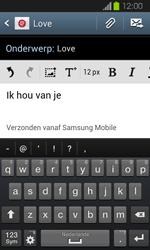 Samsung I8730 Galaxy Express - E-mail - Hoe te versturen - Stap 10