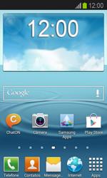 Samsung Galaxy Express - Mensagens - Como configurar seu celular para mensagens multimídia (MMS) - Etapa 1