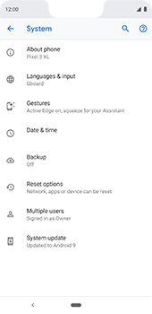 Google Pixel 3XL - Device - Factory reset - Step 8