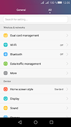 Huawei Y6 II Compact - MMS - Manual configuration - Step 3