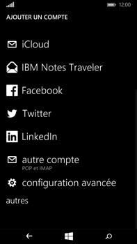 Microsoft Lumia 640 XL - E-mail - Configuration manuelle - Étape 7