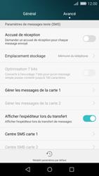 Huawei P8 Lite - SMS - Configuration manuelle - Étape 6