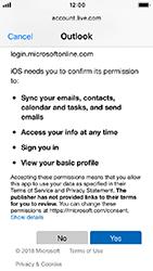 Apple iPhone 5s - iOS 12 - E-mail - Manual configuration (outlook) - Step 8