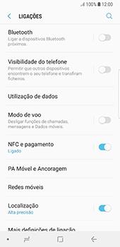 Samsung Galaxy S8 - Android Oreo - Internet no telemóvel - Como configurar ligação à internet -  5