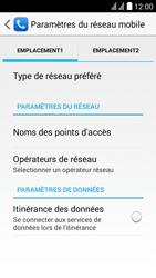 Huawei Y625 - MMS - Configuration manuelle - Étape 4