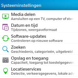 BlackBerry Q5 - Software update - update installeren zonder PC - Stap 4