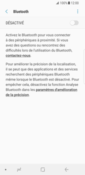 Samsung Galaxy S8 - Android Oreo - Bluetooth - connexion Bluetooth - Étape 8