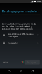 HTC Desire 610 - Applicaties - Account aanmaken - Stap 19