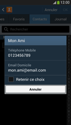 Samsung Galaxy S4 Mini - Contact, Appels, SMS/MMS - Envoyer un SMS - Étape 7