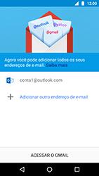Motorola Moto X4 - Email - Como configurar seu celular para receber e enviar e-mails - Etapa 12