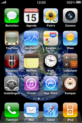 Apple iPhone 3G S - bluetooth - aanzetten - stap 1