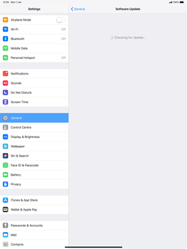 Apple iPad Pro 12.9 (2018) - Device - Software update - Step 6