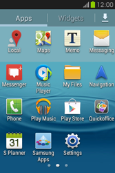 Samsung S6810P Galaxy Fame - Applications - Downloading applications - Step 3