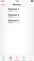 Apple iPhone 5s - Photos, vidéos, musique - Ecouter de la musique - Étape 4