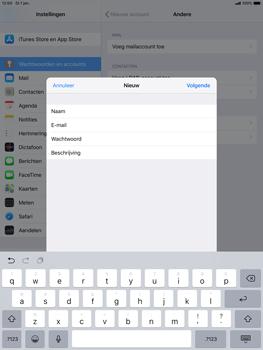 Apple ipad-air-10-5-inch-2019-model-a2123 - E-mail - Account instellen (IMAP met SMTP-verificatie) - Stap 9