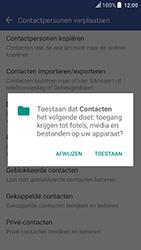 HTC U Play (Model 2PZM3) - Contacten en data - Contacten kopiëren van toestel naar SIM - Stap 7
