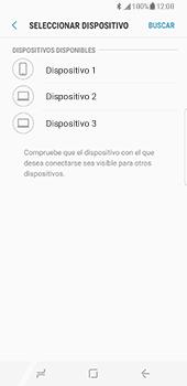 Samsung Galaxy S8 - Bluetooth - Transferir archivos a través de Bluetooth - Paso 11