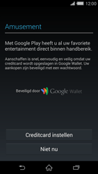 Sony Xperia Z2 4G (D6503) - Applicaties - Account aanmaken - Stap 20