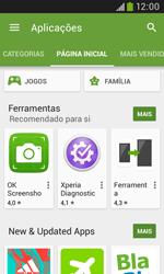 Samsung Galaxy Trend Plus - Aplicações - Como pesquisar e instalar aplicações -  5