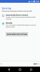 Sony Xperia X Performance (F8131) - E-mail - Manual configuration (yahoo) - Step 10