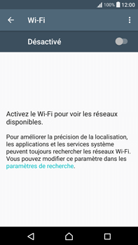 Sony F3211 Xperia XA Ultra - WiFi et Bluetooth - Configuration manuelle - Étape 5
