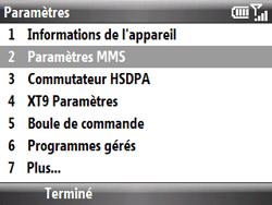 HTC S521 Snap - MMS - Configuration manuelle - Étape 12