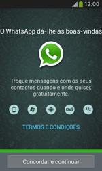 Samsung Galaxy Grand Neo - Aplicações - Como configurar o WhatsApp -  5