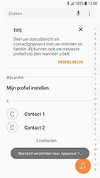 Samsung Galaxy S7 - Android N - Contactgegevens overzetten - delen via Bluetooth - Stap 10