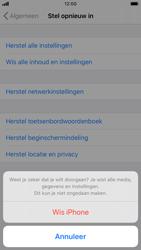 Apple iphone-7-met-ios-13-model-a1778 - Instellingen aanpassen - Fabrieksinstellingen terugzetten - Stap 7