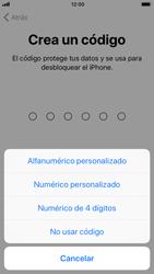 Apple iPhone 6s - iOS 11 - Primeros pasos - Activar el equipo - Paso 14