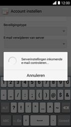 Huawei Ascend Y530 - E-mail - Account instellen (POP3 zonder SMTP-verificatie) - Stap 12