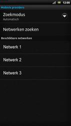 Sony LT22i Xperia P - Netwerk - Handmatig netwerk selecteren - Stap 12