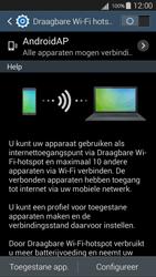 Samsung Galaxy S III Neo (GT-i9301i) - WiFi - Mobiele hotspot instellen - Stap 6