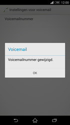 Sony D5803 Xperia Z3 Compact - Voicemail - handmatig instellen - Stap 10
